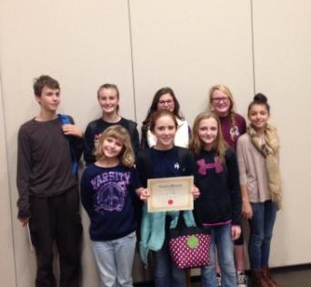 6th Grade Quiz Bowl Team brings home 3rd Place